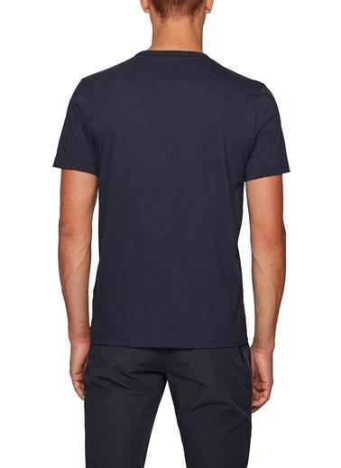 Hugo Boss  % 100 Pamuklu Bisiklet Yaka T Shirt Erkek T Shırt 50412363 403 Lacivert